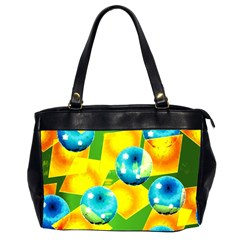 COLORS OF BRAZIL Oversize Office Handbag (Two Sides)