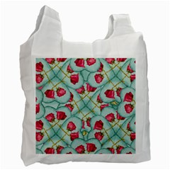 Love Motif Pattern Print Recycle Bag (One Side)