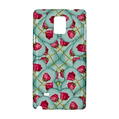 Love Motif Pattern Print Samsung Galaxy Note 4 Hardshell Case