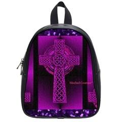 Purple Celtic Cross School Bags (small)