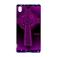 Purple Celtic Cross Sony Xperia Z3+