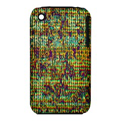 Multicolored Digital Grunge Print Apple iPhone 3G/3GS Hardshell Case (PC+Silicone)