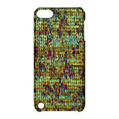 Multicolored Digital Grunge Print Apple iPod Touch 5 Hardshell Case with Stand