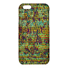 Multicolored Digital Grunge Print iPhone 6/6S TPU Case