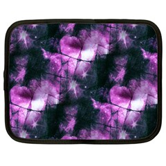 Celestial purple  Netbook Case (Large)