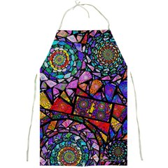 Fractal Stained Glass Full Print Aprons