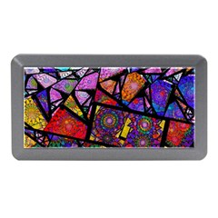 Fractal Stained Glass Memory Card Reader (Mini)
