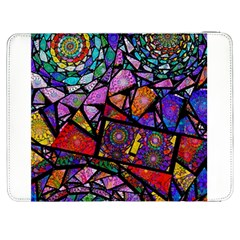 Fractal Stained Glass Samsung Galaxy Tab 7  P1000 Flip Case
