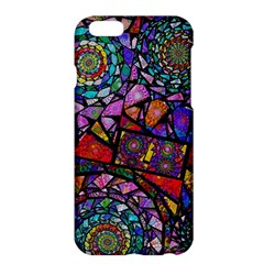 Fractal Stained Glass Apple Iphone 6 Plus/6s Plus Hardshell Case