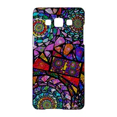 Fractal Stained Glass Samsung Galaxy A5 Hardshell Case
