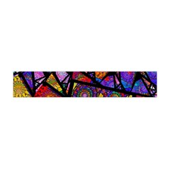 Fractal Stained Glass Flano Scarf (Mini)