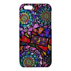 Fractal Stained Glass iPhone 6/6S TPU Case