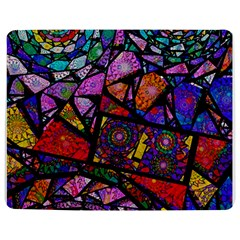 Fractal Stained Glass Jigsaw Puzzle Photo Stand (Rectangular)