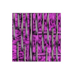 Purple Lace Landscape Abstract Shimmering Lovely In The Dark Satin Bandana Scarf