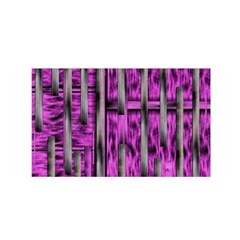 Purple Lace Landscape Abstract Shimmering Lovely In The Dark Satin Wrap