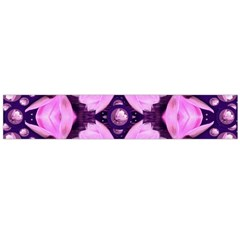 Magic Lotus In A Landscape Temple Of Love And Sun Flano Scarf (Large)