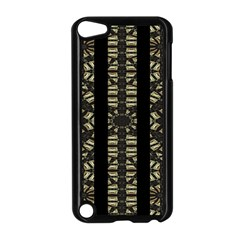 Vertical Stripes Tribal Print Apple iPod Touch 5 Case (Black)