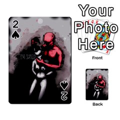 Be Scared Playing Cards 54 Designs