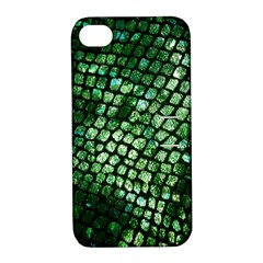 Dragon Scales Apple iPhone 4/4S Hardshell Case with Stand