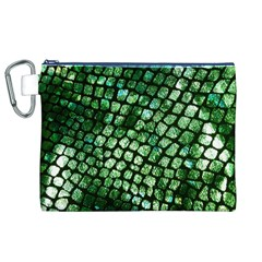 Dragon Scales Canvas Cosmetic Bag (XL)