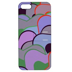 Wavy Shapes Pieces                                                                          apple Iphone 5 Hardshell Case With Stand