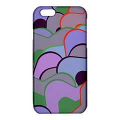 Wavy shapes pieces                                                                          			iPhone 6/6S TPU Case
