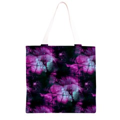 Celestial Pink Grocery Light Tote Bag