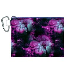 Celestial Pink Canvas Cosmetic Bag (XL)