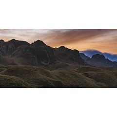 Sunset Scane at Cajas National Park in Cuenca Ecuador YOU ARE INVITED 3D Greeting Card (8x4)