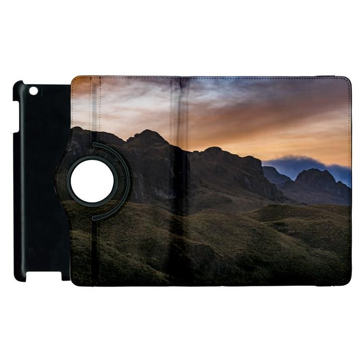 Sunset Scane at Cajas National Park in Cuenca Ecuador Apple iPad 3/4 Flip 360 Case