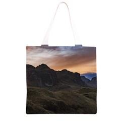 Sunset Scane at Cajas National Park in Cuenca Ecuador Grocery Light Tote Bag