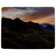 Sunset Scane At Cajas National Park In Cuenca Ecuador Jigsaw Puzzle Photo Stand (rectangular)