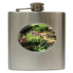 Shadowed ground cover Hip Flask (6 oz)