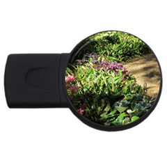 Shadowed ground cover USB Flash Drive Round (4 GB)