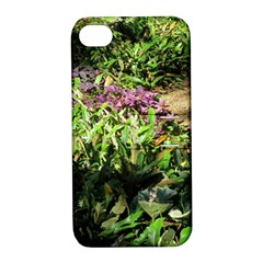 Shadowed ground cover Apple iPhone 4/4S Hardshell Case with Stand