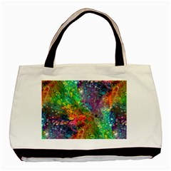 Reality is Melting Basic Tote Bag (Two Sides)