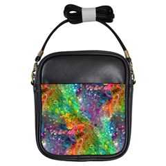 Reality is Melting Girls Sling Bags