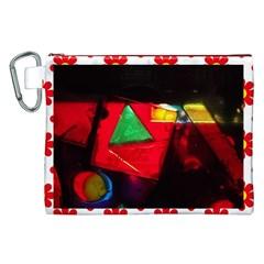 geo Canvas Cosmetic Bag (XXL)