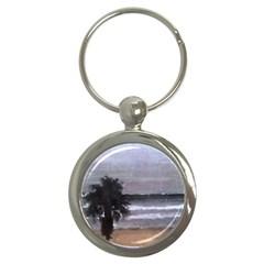 Veniceoceanpalm Key Chain (round)