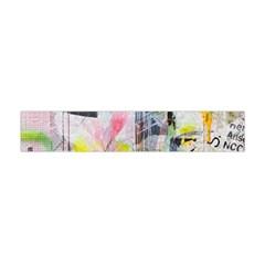 Graffiti Graphic Flano Scarf (mini)