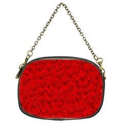 Red Roses Chain Purses (Two Sides)