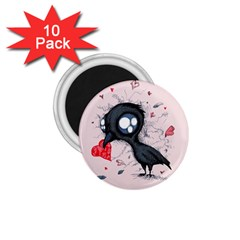 Baby Crow  1.75  Magnets (10 pack)