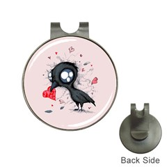 Baby Crow  Hat Clips with Golf Markers