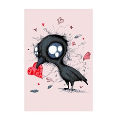 Baby Crow  Shower Curtain 48  x 72  (Small)