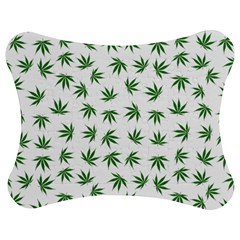 Marijuana Pattern Jigsaw Puzzle Photo Stand (Bow)
