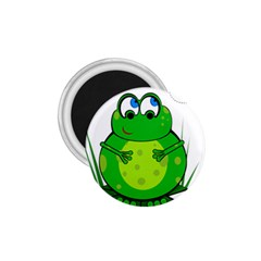 Green Frog 1.75  Magnets