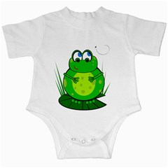 Green Frog Infant Creepers