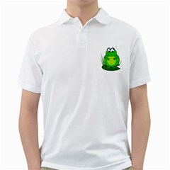 Green Frog Golf Shirts
