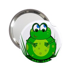 Green Frog 2.25  Handbag Mirrors