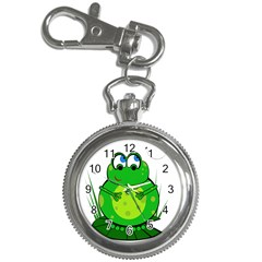 Green Frog Key Chain Watches